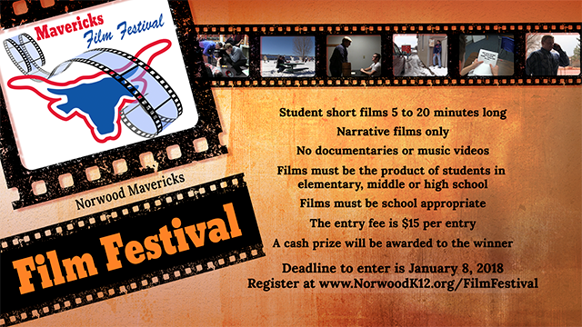 Norwood Mavericks Film Festival